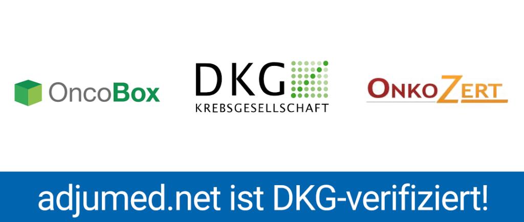 adjumed.net ist DKG verifiziert!