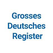 Grosses Deutsches Register