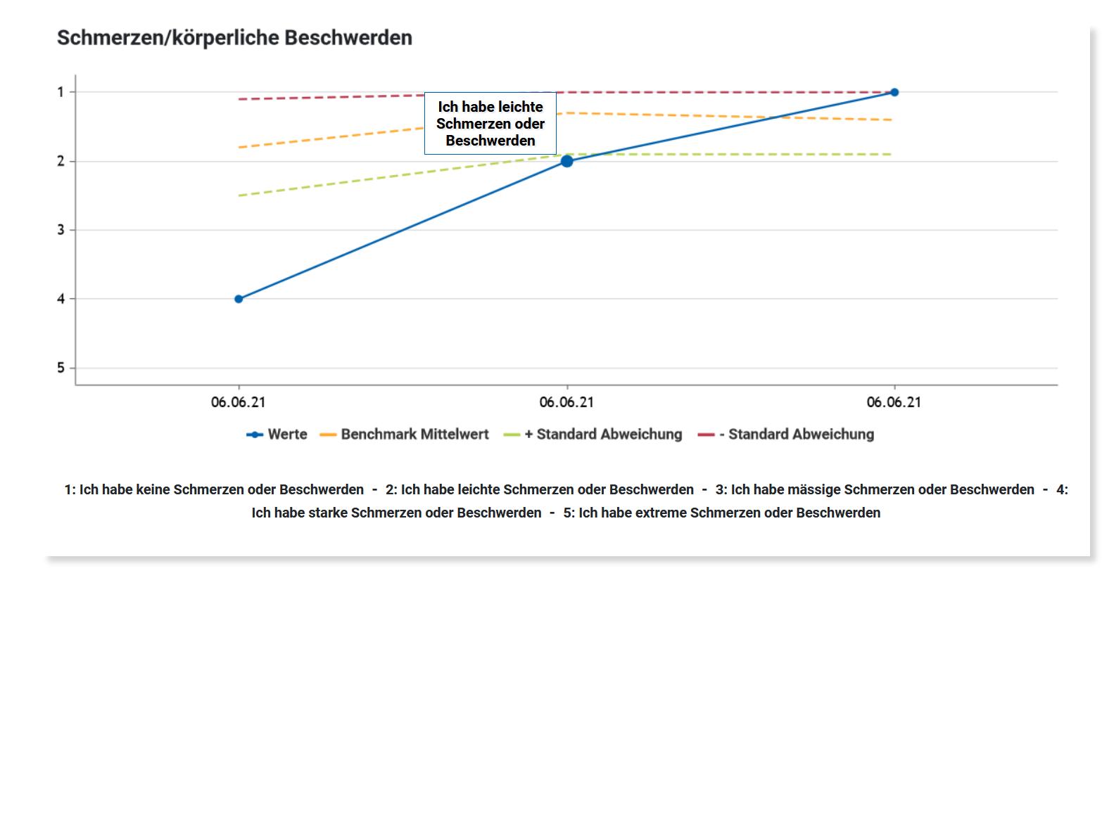 Einzelfallauswertung Diagramm aus AdjumedValidate